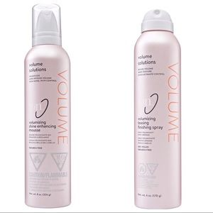 Ion Mousse and Finishing Spray